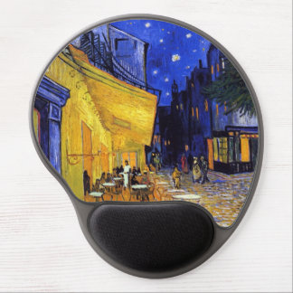 Cafe Terrace by Van Gogh Fine Art Gel Mouse Pad