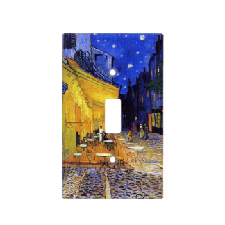 Cafe Terrace by Vincent van Gogh Light Switch Cover