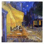Cafe Terrace by Vincent van Gogh Tile