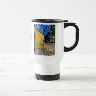 Cafe Terrace by Vincent van Gogh Travel Mug
