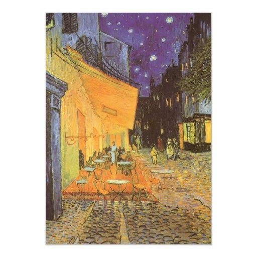 Cafe Terrace Night, van Gogh Vintage Impressionism Card