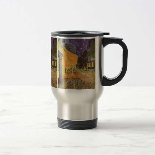 Cafe Terrace Night, van Gogh Vintage Impressionism Coffee Mug