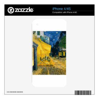 Cafe Terrace, Place du Forum, Arles, 1888 iPhone 4S Skins