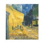 Cafe Terrace, Place du Forum, Arles, 1888 Notepads