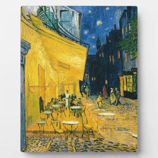 Cafe Terrace, Place du Forum, Arles, 1888 Plaque
