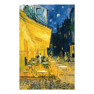 Cafe Terrace, Place du Forum, Arles, 1888 Stationery
