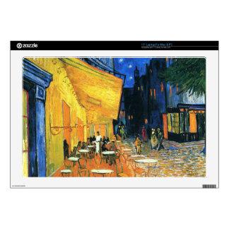 "Cafe Terrace, Place du Forum, Arles Decals For 17"" Laptops"