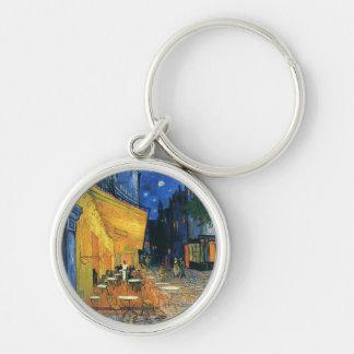 Cafe Terrace, Place du Forum, Arles - Van Gogh Keychain