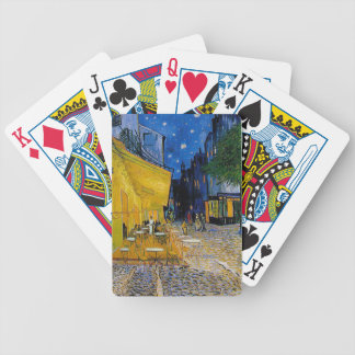 Cafe Terrace Place du Forum by Vincent van Gogh Bicycle Playing Cards