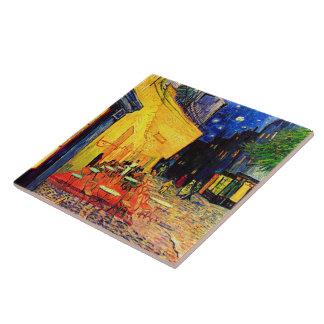 Cafe Terrace Place du Forum Van Gogh Fine Art Ceramic Tile