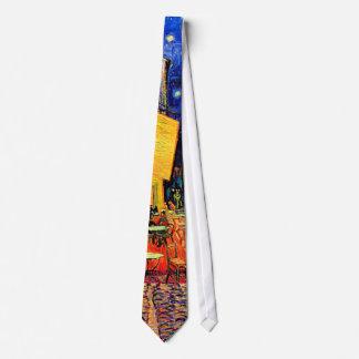 Cafe Terrace Place du Forum Van Gogh Fine Art Tie