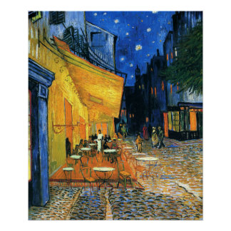 Cafe Terrace Place - Vincent van Gogh Poster