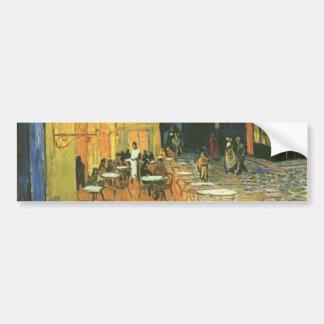 Cafe Terrace - Vincent van Gogh Bumper Sticker