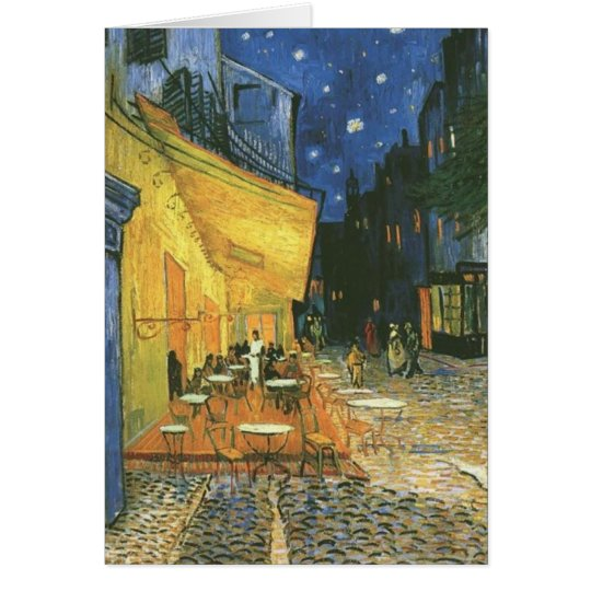 Cafe Terrace - Vincent van Gogh Card