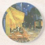 Cafe Terrace - Vincent van Gogh Drink Coasters