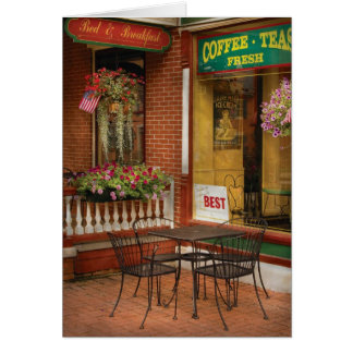 Cafe - The Best ice cream in Lancaster Card