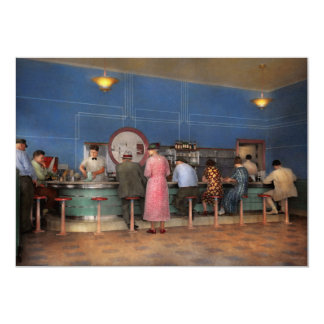 Cafe - The half way point 1938 Card