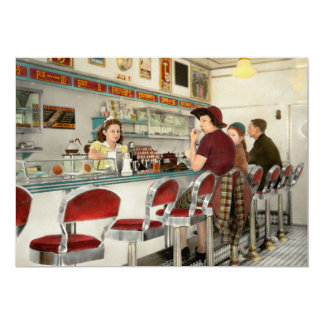 Cafe - The local hangout 1941 Card
