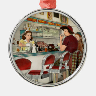Cafe - The local hangout 1941 Metal Ornament