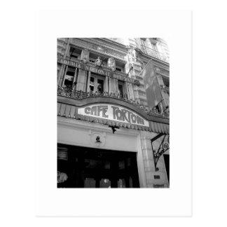 Café Tortoni y tango Tarjetas Postales