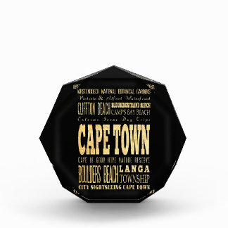 Cafe Town City of South Africa Typography Art Award