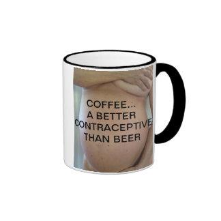 CAFÉ… UN MEJOR CONTRACEPTIVO QUE LA CERVEZA TAZAS