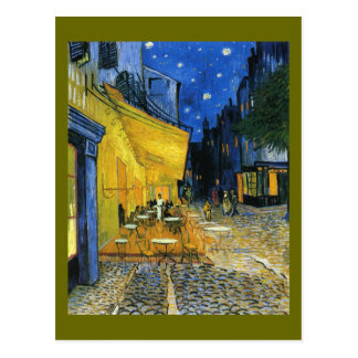 Cafe Under the Stars Postcard