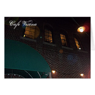 Cafe Verona on Independence Square, Indep. Mo. Card
