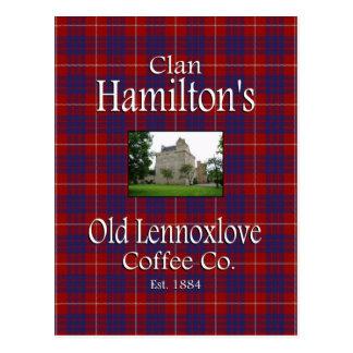 Café viejo Co de Lennoxlove de Hamilton del clan Postal