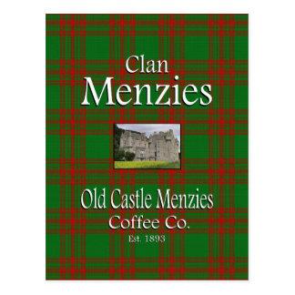 Café viejo Co. de Menzies del castillo de Menzies  Tarjeta Postal