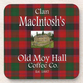 Café viejo Co. de Moy Pasillo de Macintosh del Posavasos De Bebidas