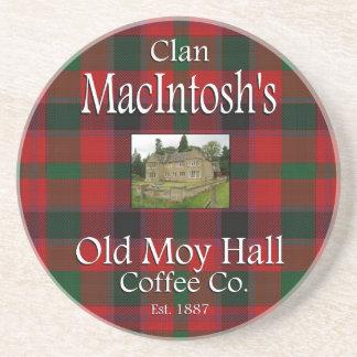Café viejo Co. de Moy Pasillo de Macintosh del Posavasos Para Bebidas