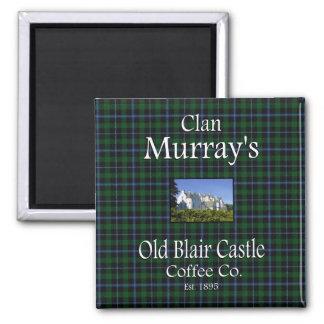 Café viejo Co. del castillo de Blair de Murray del Imán Cuadrado