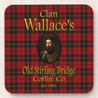 Café viejo Co. del puente de Stirling de Wallace Posavasos