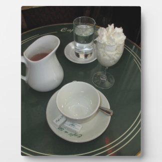 Cafe Viennois at Paris Cafe Plaque
