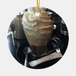 Cafe Viennois - Lots of Whipped Cream | Paris Ceramic Ornament