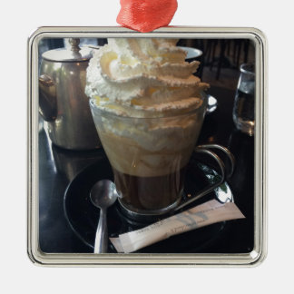 Cafe Viennois - Lots of Whipped Cream | Paris Metal Ornament