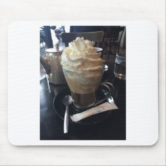 Cafe Viennois - Lots of Whipped Cream | Paris Mouse Pad