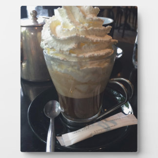 Cafe Viennois - Lots of Whipped Cream | Paris Plaque