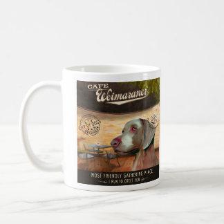 Cafe Weimaraner Coffee Mug