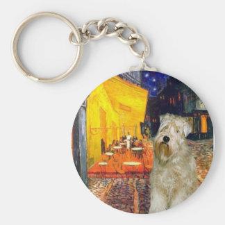Cafe - Wheaten Terrier Keychain