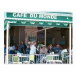 Café y Beignets de New Orleans Postales