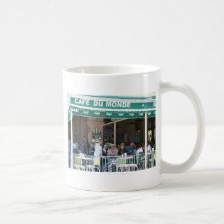 Café y Beignets de New Orleans Taza Clásica