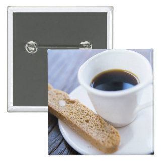 Café y Biscotti Pins