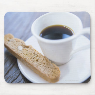 Café y Biscotti Tapetes De Raton