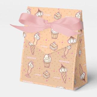 café y caja del favor del modelo de las tortas caja para regalo de boda