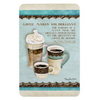 Café y chocolate Java - imán de la decoración de l