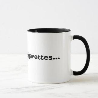 Café y cigarrillos… taza