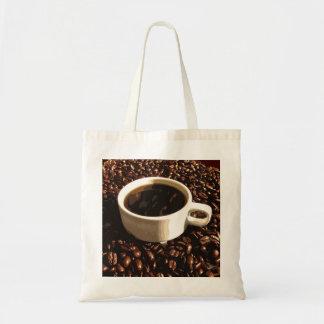 Café y habas bolsas de mano