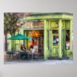 Café y té del imperio póster